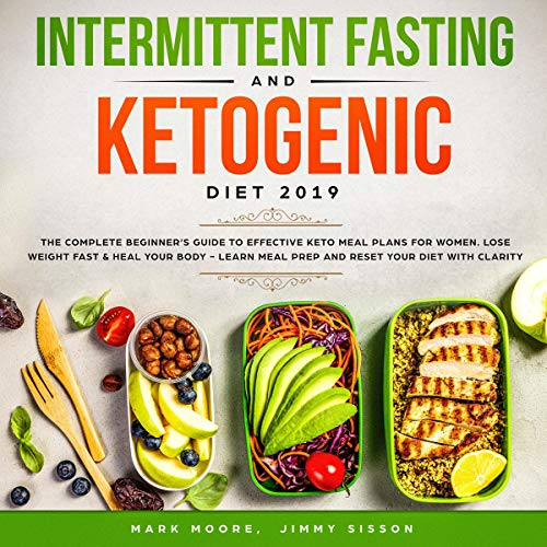 Intermittent Fasting and Ketogenic Diet 2019 audiobook cover art