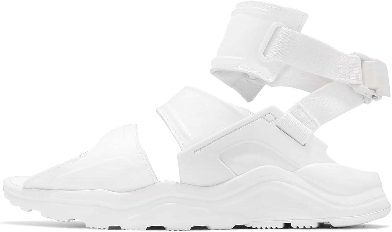 Nike Womens Air Huarache Gladiator QS Patent Leather Toe Loop Sport Sandals