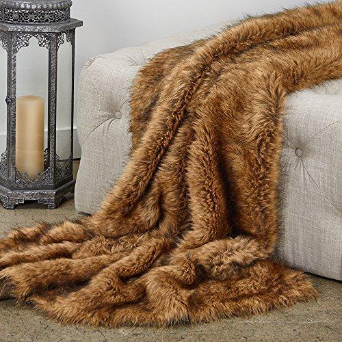 Best Price Plutus Brands Plutus Fox Luxury Throw, 80 L x 110 W Full