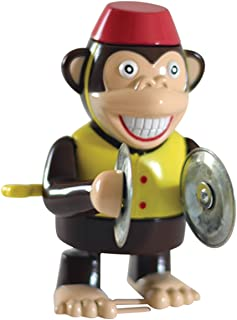 Ideas In Life Wind Up Cymbal Monkey Toy - Windup Monkey Marching and Playing - Classic Happy Clapping Monkey 4