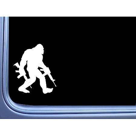 EZ-STIK Bigfoot Packing AR's Sticker M311 6 Inch Decal Sasquatch Squatch yeti Window