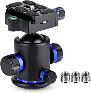 Color : Black Camera Accessory JIN Tripod Heads 360 Degree Auto Rotation 60 Minutes Time Lapse Stabilizer Tripod Head Adapter for GoPro Black