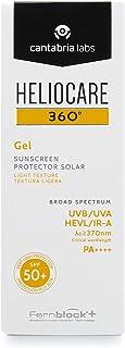 Heliocare 360º Gel SPF 50+ - Crema Solar Facial Fotoprotector Avanzado Textura Gel Ligera Rápida Absorción Pieles Nor...