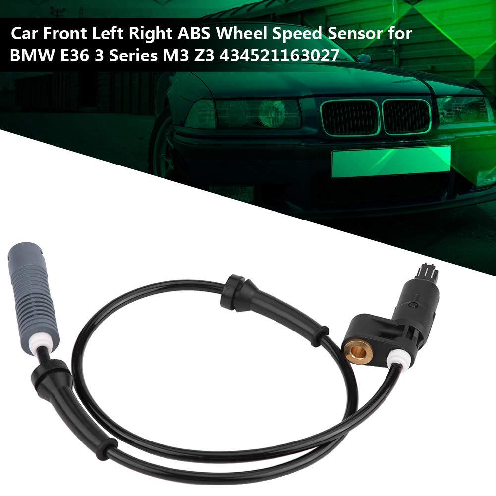 ABS Sensor de velocidad de rueda Frente de coche derecha Sensor de velocidad de rueda izquierda Sensor de velocidad de rueda de ABS para E36 3 Serie M3 Z3 434521163027