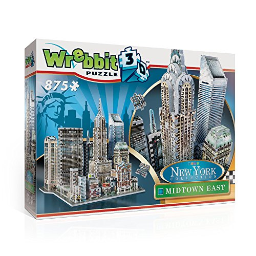 Wrebbit 3D Harry Potter Midtown East-New York Collection 3D-Puzzle, W3D-2011