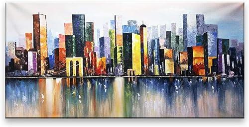 envio rapido a ti Pintado A Mano Bricolaje Paisaje Abstracto Pintura Al Al Al óleo Salón Dormitorio Hotel Lugar De Trabajo Decoración Pintura 50X100Cm  garantía de crédito