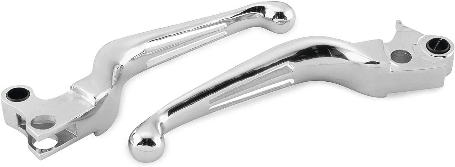 Bikers Choice 053545 Dual Slotted LeversChrome nogvcn3743-Sporting