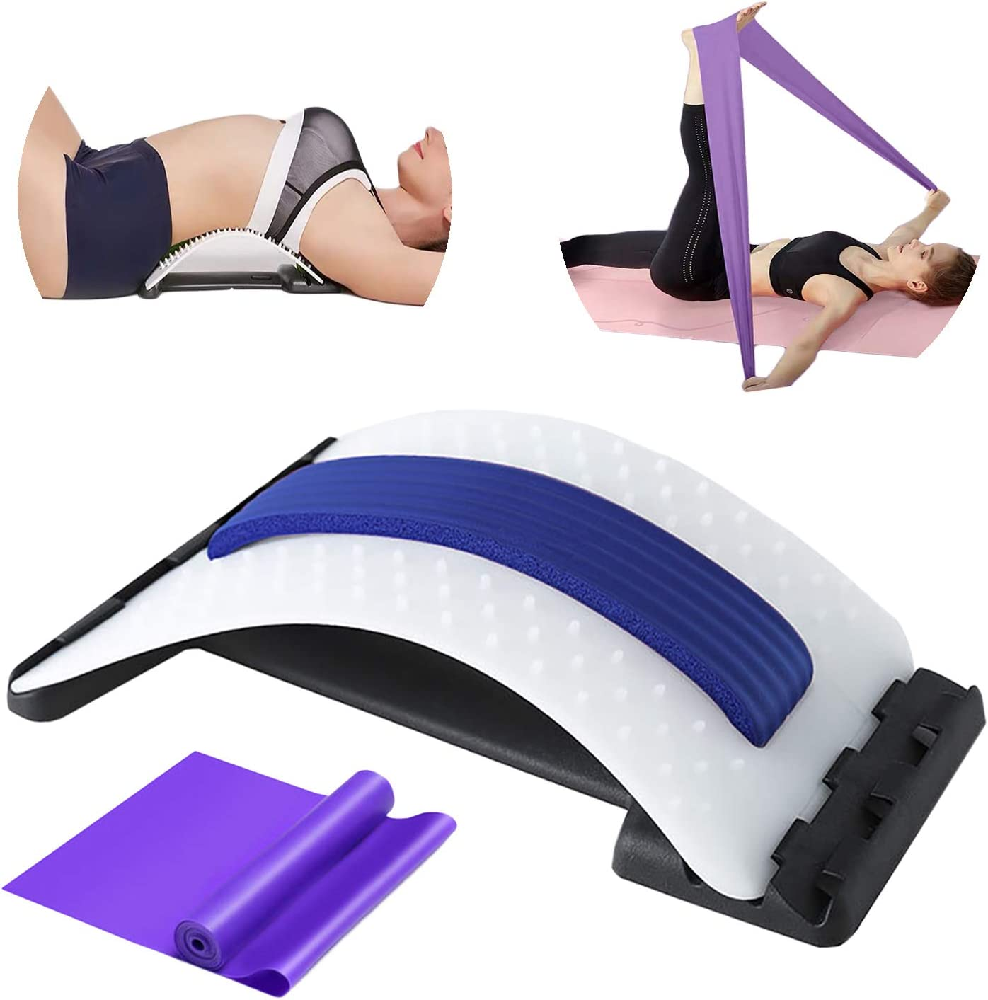 2-in-1 Back Stretcher for Spin Save money store Relief Lower Pain