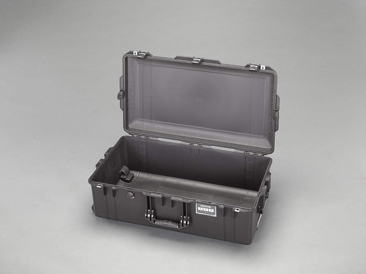 エクステント魅力的であることへのアピール間欠ESCO エスコ 660x356x213mm/内寸万能防水ケース(軽黒ウレタン無 EA657-360NF