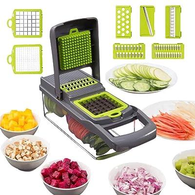 Alrens Vegetable Chopper Mandoline Slicer Cutte...