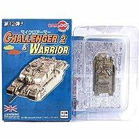 【1】 童友社 1/144 マイクロアーマー 第12弾 チャレンジャー CHALLENGER2&WARRIOR ウォーリア FV510 ザ・ブラック・ウォッチ 2003年 イラク 単品