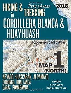 huayhuash trek map