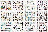 8HAOWENJU 11pcs / Set Letter Líneas abstractas diseños de uñas de Transferencia de la Etiqueta engomada de Agua Vinilos Conjuntos del Arte del Clavo de la decoración de Belleza 2020 Newst