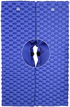2-Pack Deerfamy Compact Sleeping Pads Camping Mats with Pillows