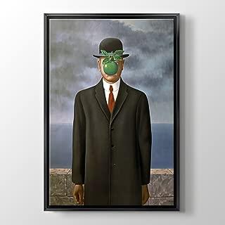 PlusCanvas - The Son of Man - Rene Magritte - 30 x 45cm (12