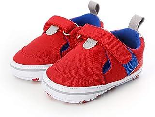 Sandalias Happy event para bebé, niña, zapatos, colores variados, con velcro, moda, Rojo