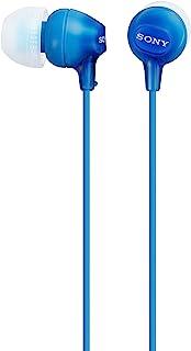 Sony MDREX15LP In-Ear Earbud Headphones, Blue