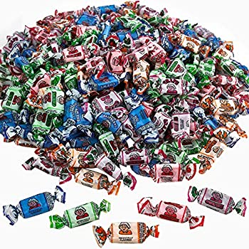 Kicko Fruit Chews - 1 Bag of 240 Pieces Assorted Fruit-Flavored Candy Suckers for Party Favors Novelty Supplies or Treats for Halloween Christmas Baby Showers Birthdays