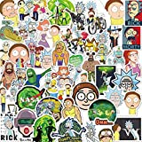 ZAYALI Rick and Morty Stickers - [150Pcs] - Funny Cartoon Laptop Stickers for Laptops, Water Bottles, Hydro Flasks, Notebook, Computers