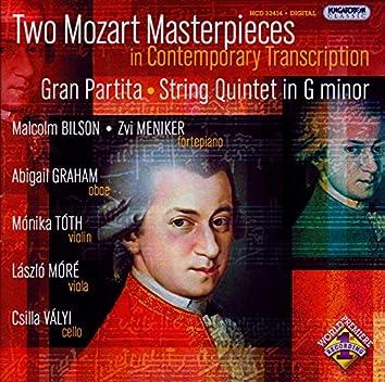 Schwencke: Grand Quintetto / Stegmann: Mozart - String Quintet in G Minor, K. 516