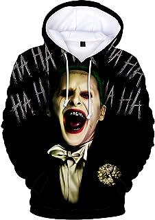 Nimpansa Femmes De Hoodies Sweat Joker 3D Imprimer Harley Quinn Pulls