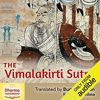 The Vimalakirti Sutra cover art