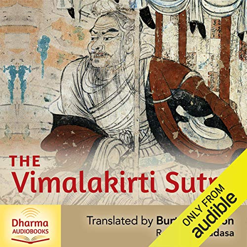 The Vimalakirti Sutra audiobook cover art
