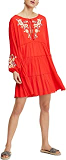 Free People Spell On You Embroidered Keyhole Dress Small S