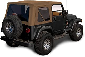 Best 97 jeep wrangler soft top Reviews