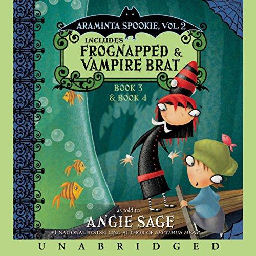 Araminta Spookie, Books 3 & 4 audiobook cover art