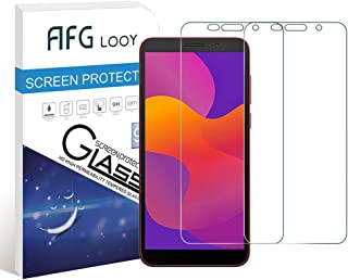 AFGLOOY 2Pack, Screen Protector Compatible with Huawei Honor 9S/ Huawei Y5p, Tempered Glass for Honor 9S/ Huawei Y5p, 9H H...
