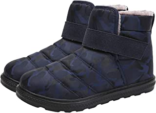 Clenp Bottes De Neige, 1 Paire Hommes Femmes Hive-r Bottes De Neige Imperméables Sports De Plein Air Chaussures Antidérapa...