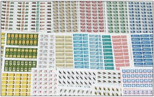 Goldhahn DDR Bogenmappe II gestempelt Briefmarken für Sammler