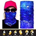 JOEYOUNG 3D Face Sun Mask, Neck Gaiter, Headwear, Magic Scarf, Balaclava, Bandana, Headband Fishing, Hunting, Hiking, Running, Motorcycling, UV Protection, Great for Men & Women