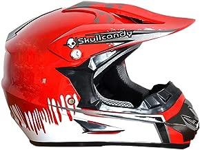 Caschi di Motocross con Occhiali//Maschera//Guanti LEENY Adulti Casco da Cross per Moto Nero Verde Motorcycle Sports off-Road DH Enduro Casco ATV MTB Quad Casco da Motociclista Modello di Mostro