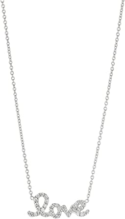 Roberto Coin - Tiny Treasure Love Pendant Necklace with Diamonds