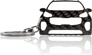 BS-180 BlackStuff Llavero De Fibra De Carbono Cadena De Claves Compatible con Fiesta ST MK7 2018