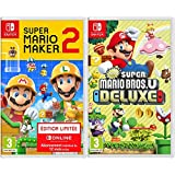 Super Mario Maker 2 - édition limitée & New Super Mario Bros. U Deluxe