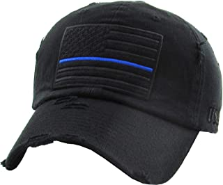 thin blue line hat womens