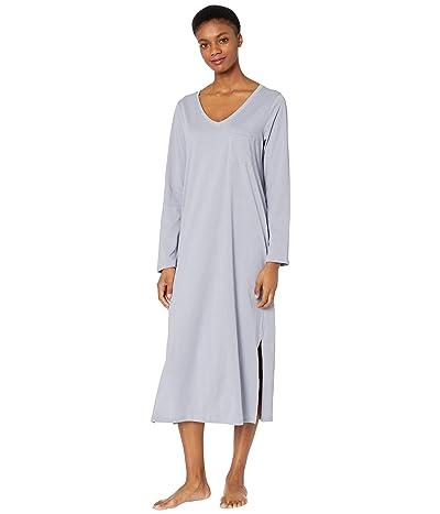 Skin Organic Cotton Clara Sleepshirt (Wedgewood Blue) Women