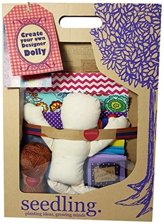 Seedling Create Your Own Designer Dolly Activity Kit [並行輸入品]