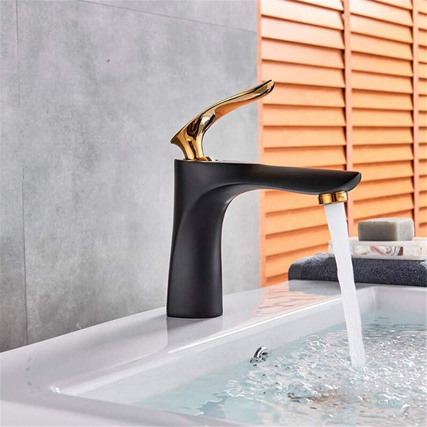 Retro Faucetwashbasin Mixer Single Hole Bathroom Basin Sink Faucet