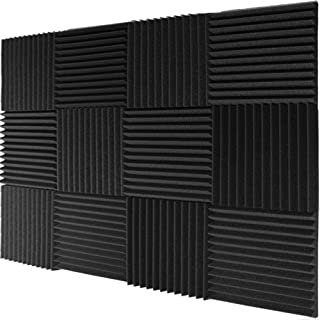 Mybecca 12 Pack- Acoustic Panels Studio Foam Wedges 1