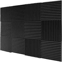 Mybecca 12 Pack- Acoustic Panels Studio Foam Wedges 1