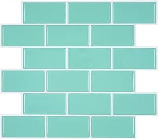 Peel and Stick Subway Tile Backsplash for Kitchen RV Room, Peel and Stick Tile Backsplash for Rental Apartment Pack of 4
