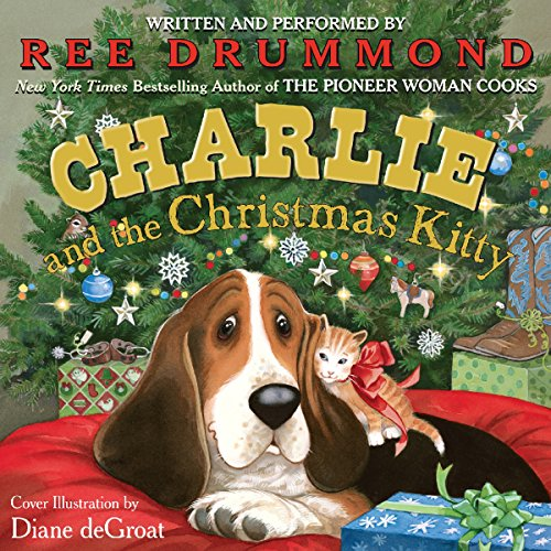 Charlie and the Christmas Kitty audiobook cover art