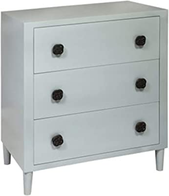 Sterling Home Queen of Connacht Dove chest of drawers, White