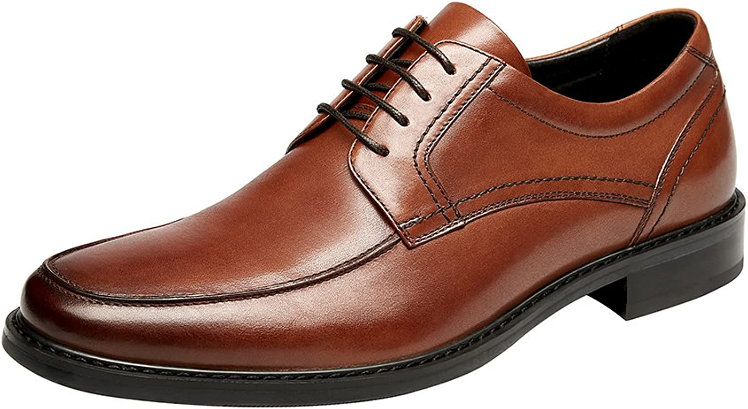 KINGSTEP Men's Genuine Leather Lace-up Business Dress shoes Oxfords