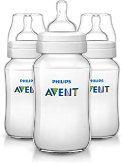 Philips Avent Anti-colic Baby Bottles Clear, 11Ounce (3 Count)