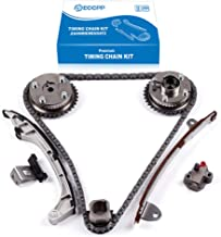 ECCPP 05224-2V Timing Chain Kit Tensioner Guide Rail Crank Gear fits for 10-14 TOYOTA CAMRY AVALON RAV4 VENZA